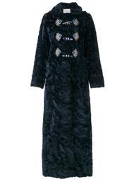 пальто с вышивкой  Peter Pilotto