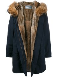 fur lined parka Yves Salomon