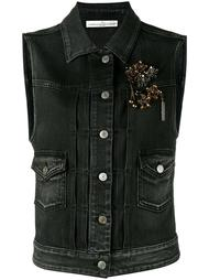 jewelled denim gilet Golden Goose Deluxe Brand