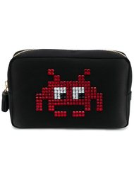 space invaders make-up bag Anya Hindmarch