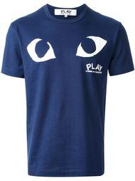 футболка с логотипом в виде глаз Comme Des Garçons Play