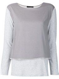 layered longsleeved T-shirt Fabiana Filippi