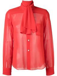 блузка с завязкой на бант Comme Des Garçons Vintage