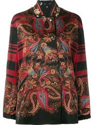 двухсторонний пиджак с цветочным узором Etro