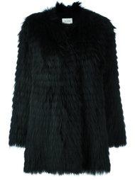 меховое пальто Yves Salomon