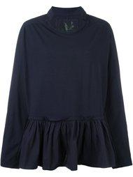 блузка с оборками Rundholz