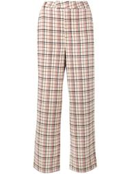 'Duncan' check trousers Ganni