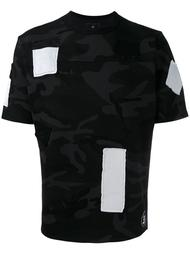 patched camouflage T-shirt Uniform Experiment