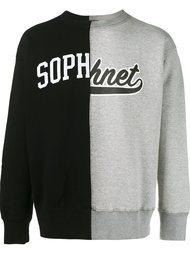 толстовка с логотипом Sophnet.