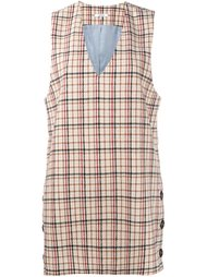 'Duncan' check dress Ganni