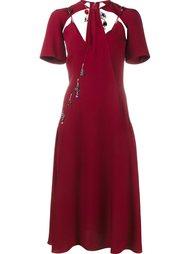 платье с подвесками Christopher Kane