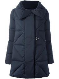 стеганое пальто-пуховик Fay
