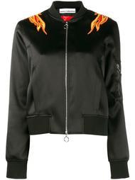 куртка бомбер с вышивкой Paco Rabanne