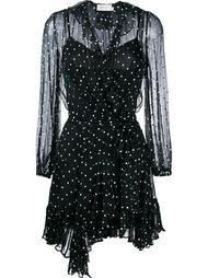 платье в горох Zimmermann