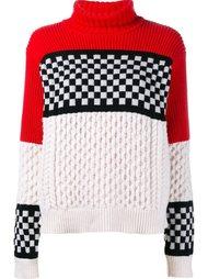 вязаный свитер с узором  Ashley Williams