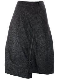 асимметричная юбка на молнии Rundholz