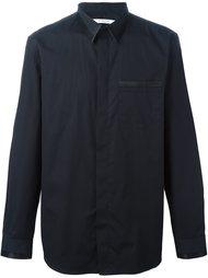 классическая рубашка с контрастной окантовкой Givenchy