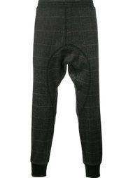 спортивные брюки в клетку Neil Barrett