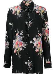 рубашка с цветочным узором Nº21
