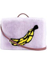 сумка на плечо с принтом банана  Natasha Zinko