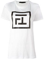 футболка с принтом-логотипом Federica Tosi