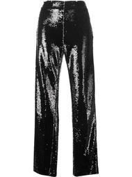широкие брюки с пайетками MSGM