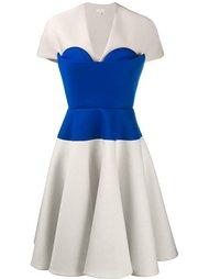 платье А-силуэта с панелью-бюстье Delpozo
