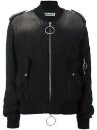 куртка-пуховик с карманами на молнии Off-White