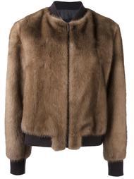 zip up bomber jacket Blancha