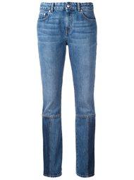 джинсы с панельным дизайном Alexander McQueen