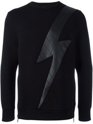 'Lightning Bolt' sweatshirt  Neil Barrett