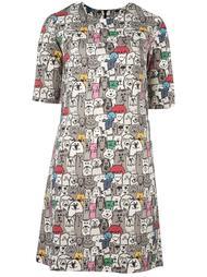 платье с принтом собак Ultràchic