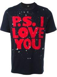 футболка 'I Love You' Ps By Paul Smith