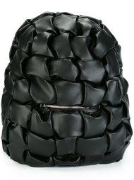 geometric embossed backpack Comme Des Garçons Noir Kei Ninomiya