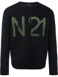 толстовка с логотипом Nº21