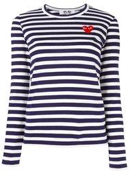 футболка с длинными рукавами в полоску Comme Des Garçons Play