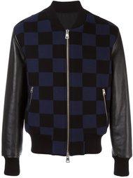 куртка в клетку  Ami Alexandre Mattiussi