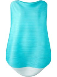 pleated round hem blouse Pleats Please By Issey Miyake