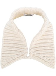 cable knit collar Arthur Arbesser