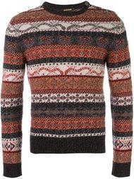 свитер в полоску  Roberto Cavalli