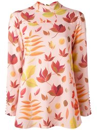 leaf print blouse Arthur Arbesser