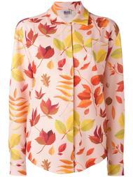 leaf print shirt Arthur Arbesser