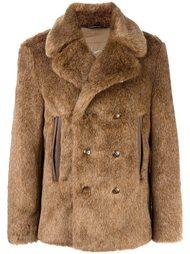 пальто из искусственного меха  Roberto Cavalli