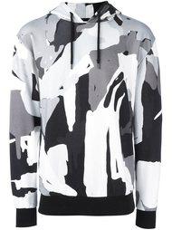 camouflage print T-shirt  Études