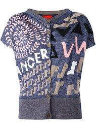 вязаная футболка с абстрактным рисунком Vivienne Westwood Red Label