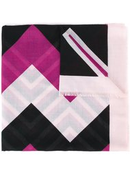 шарф с геометрическим принтом Salvatore Ferragamo