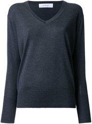 блузка с V-образным вырезом Le Ciel Bleu