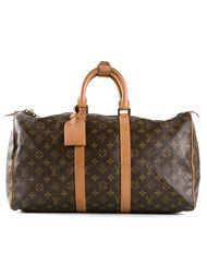 дорожная сумка '45' с монограммным принтом Louis Vuitton Vintage