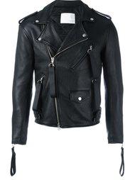 biker jacket Matthew Miller