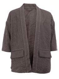 пиджак с укороченными рукавами Wooster + Lardini